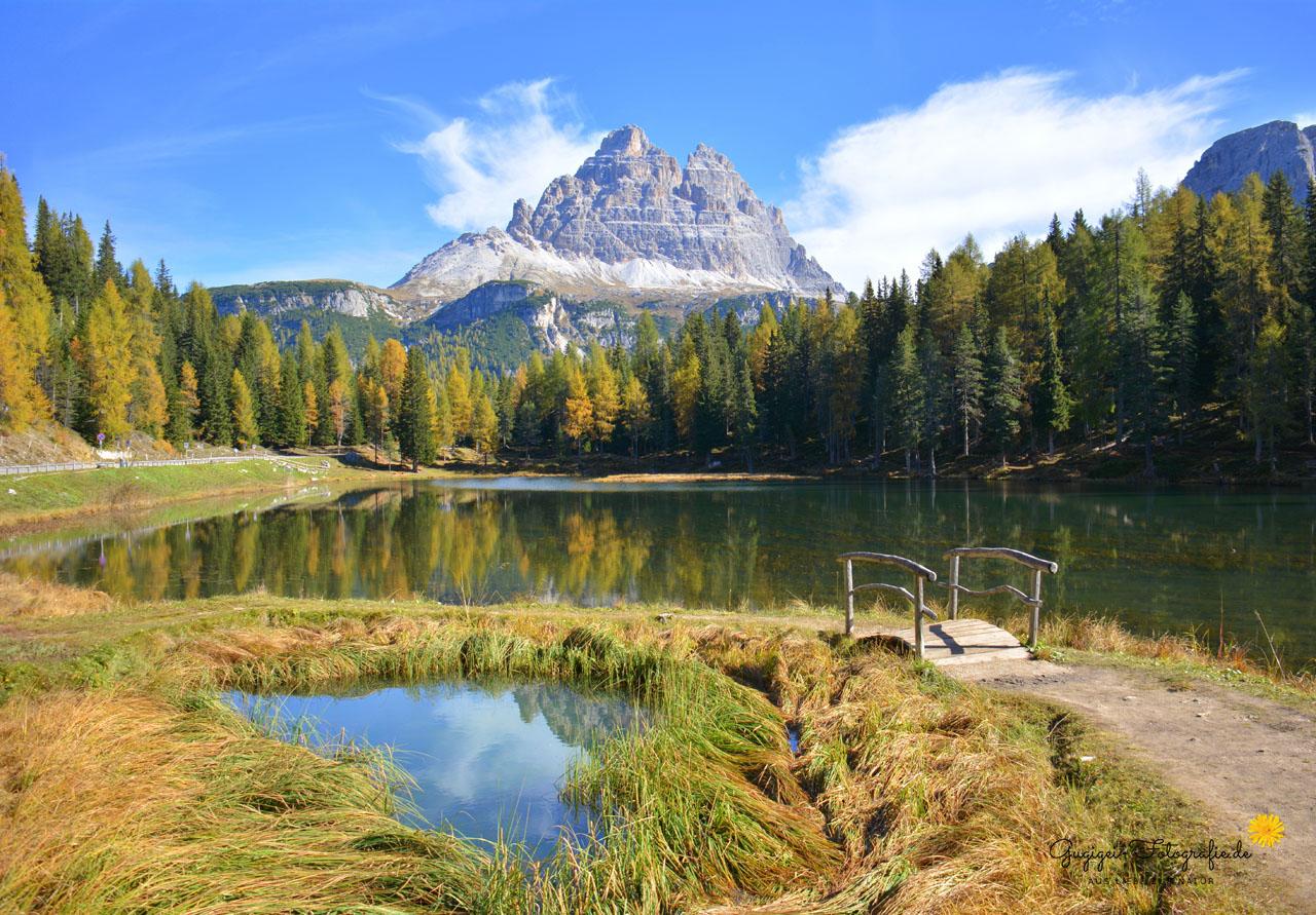 Antorno-See, Dolomiten