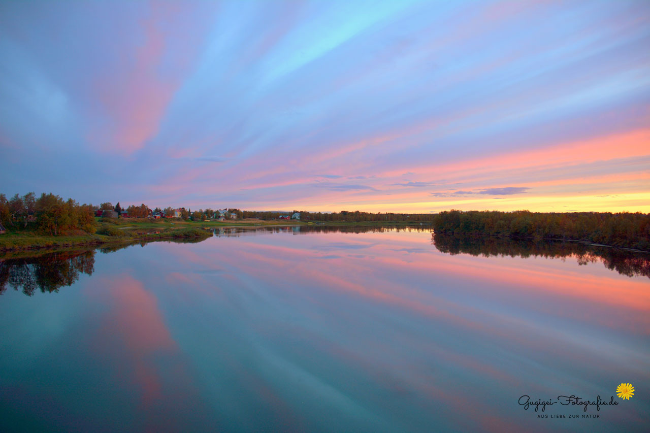 Grenzfluss Schweden-Finnland