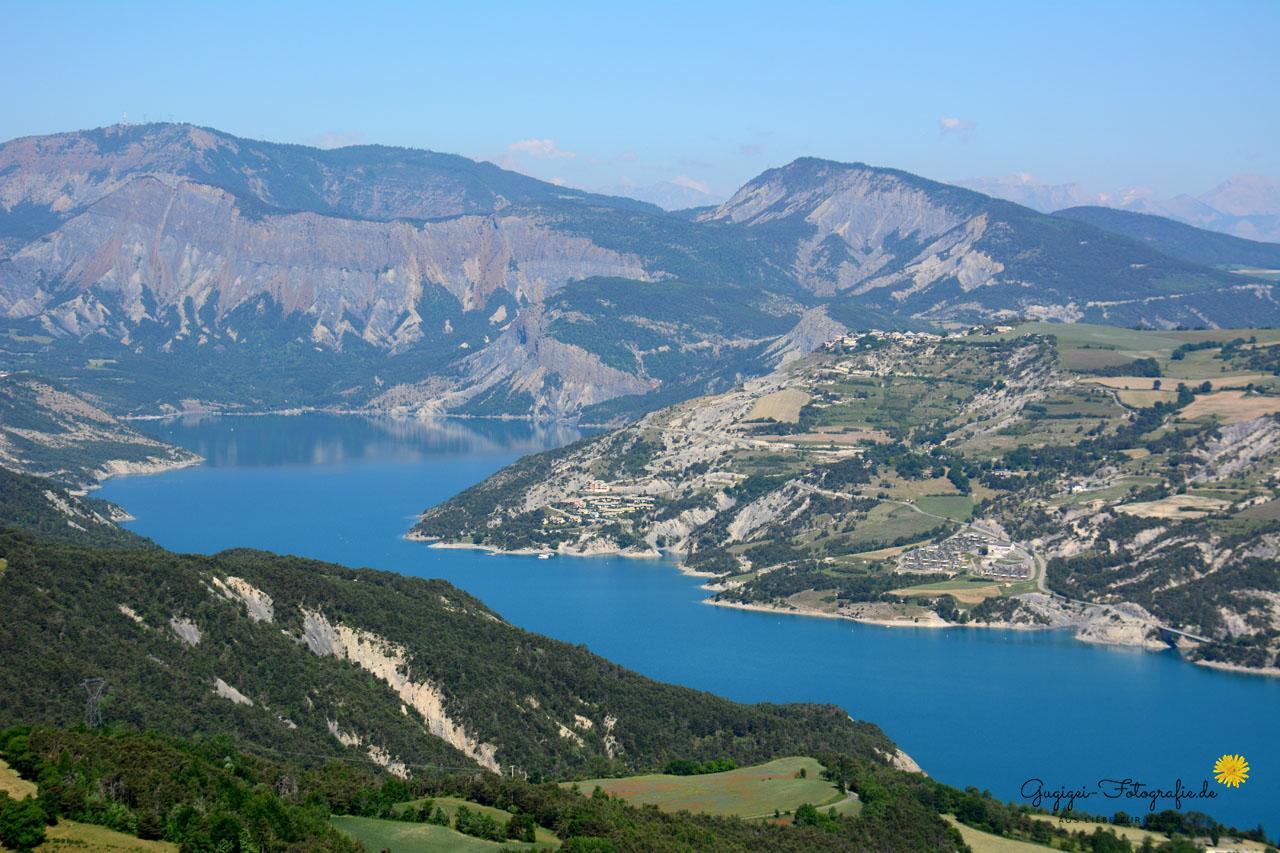 Lac de Serre-Poncon (Frankreich)