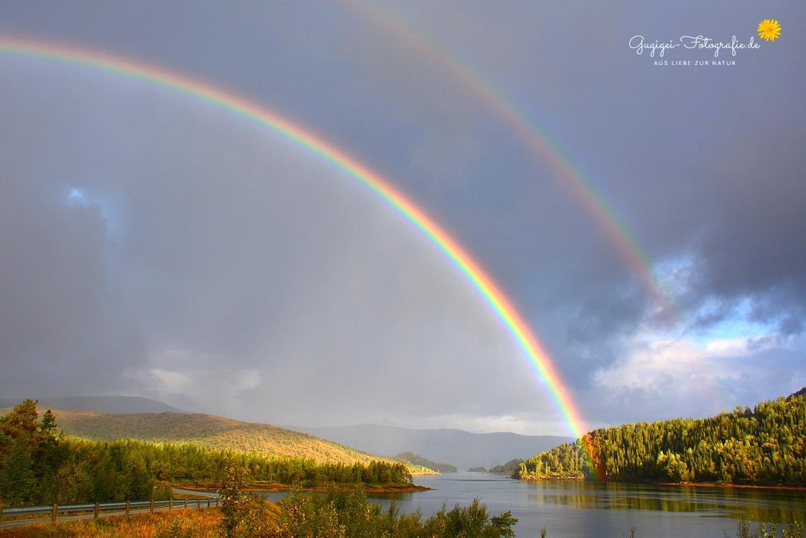 Norwegen – Regenbogen