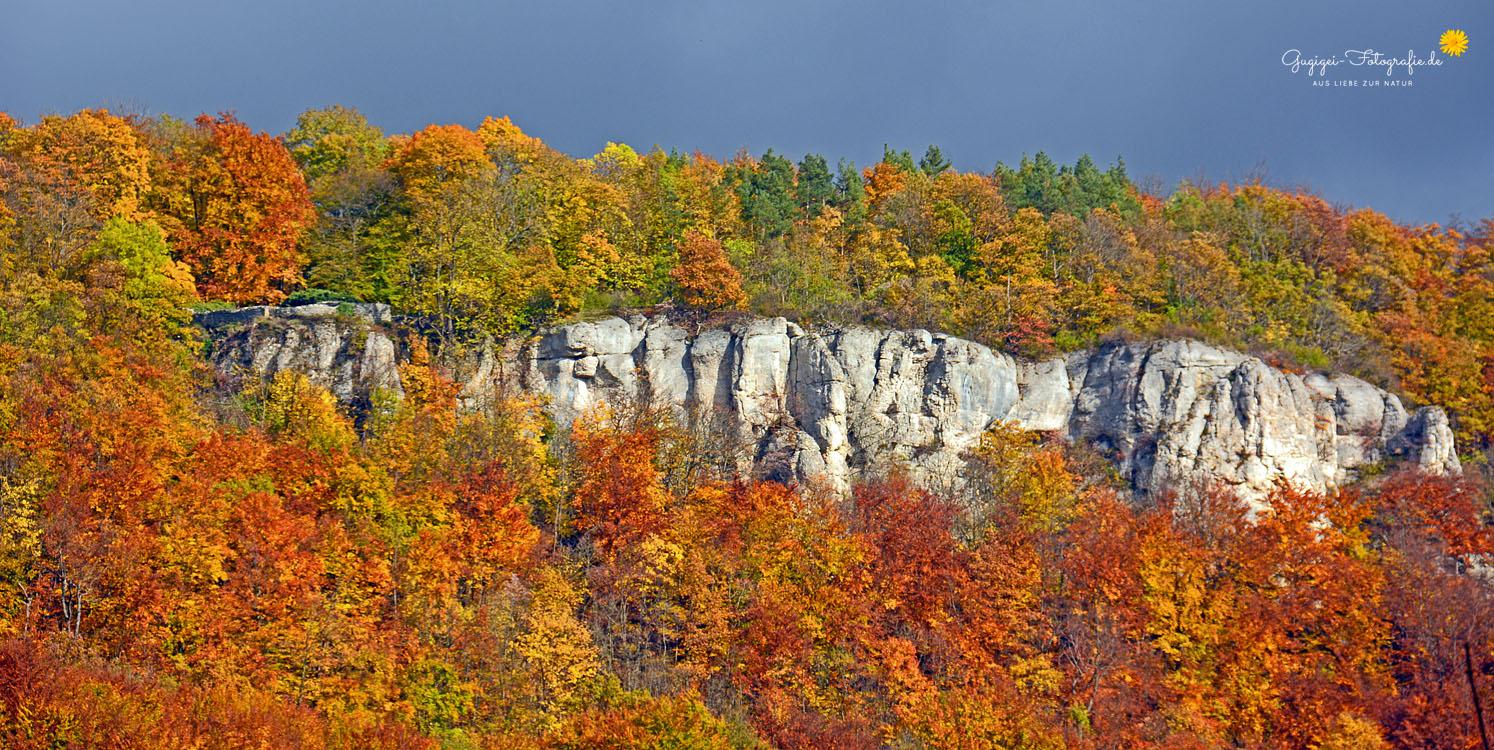 Albtrauf im Herbst