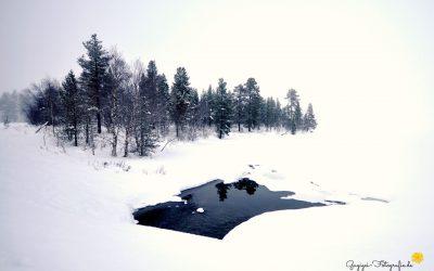 Am Inarisee, Finnland