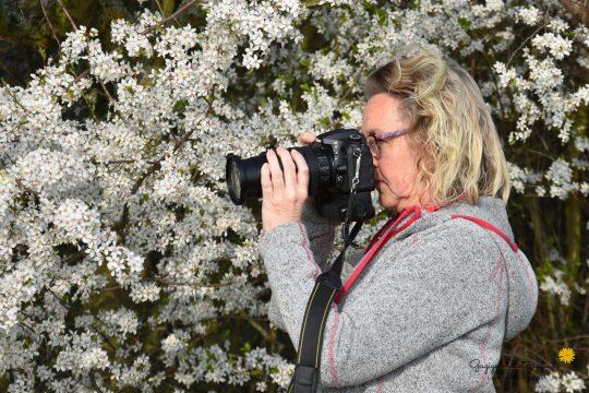 Gugigei Fotografie - Wiltrud beim fotografieren